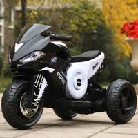 宝马 儿童电动摩托三轮车 小电瓶 单驱动+凑单品