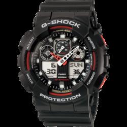 CASIO 卡西欧 G-Shock系列 GA-100-1A4DR 男士石英手表