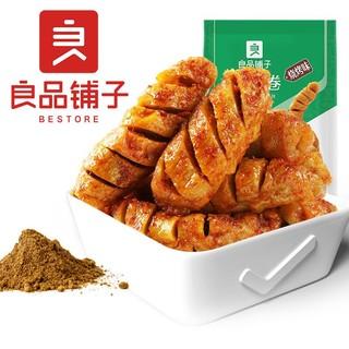 良品铺子 豆制品零食 面筋卷 120gx1袋装 烧烤味 特产休闲小吃豆干零食烧烤味 *11件