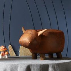 林氏木业 LS084 创意可爱动物凳子