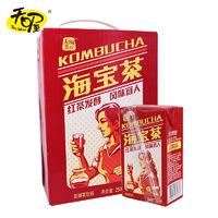 天喔海宝茶250ml*16盒 夏季饮品发酵果味茶饮料