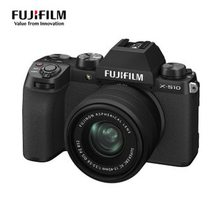 FUJIFILM 富士 X-S10 APS-C画幅 微单相机 套机(15-45mm)