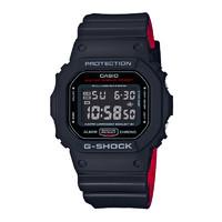 卡西欧(CASIO)小方块男表G-SHOCK系列数字显示多功能运动腕表 DW-5600HR-1PR