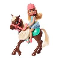 芭比(Barbie)萌宠运动 驯马师小凯莉和她的小马驹 GHV78