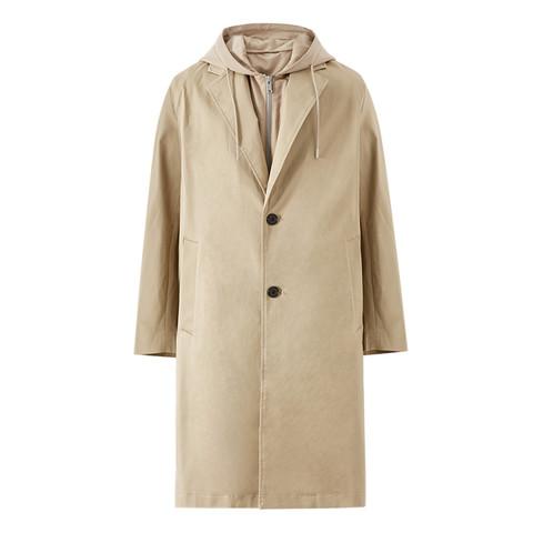 限尺码:ME&CITY 53402210 男式风衣外套