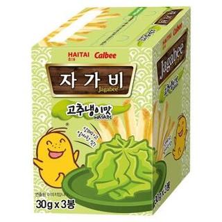 卡乐比Calbee 海太佳可比薯条三兄弟芥末味薯条90g  韩国进口零食 *7件