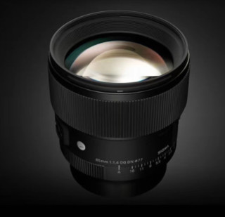 SIGMA 适马 全画幅无反镜头 85mm F1.4 DG DN Art E卡口 黑色