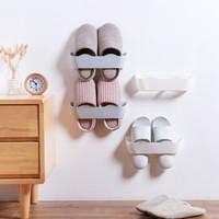 莜牧 创意墙体壁挂式鞋架  3个装