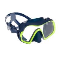 DECATHLON 迪卡侬 500系列 A面镜 8381916-M 深蓝色荧光绿边