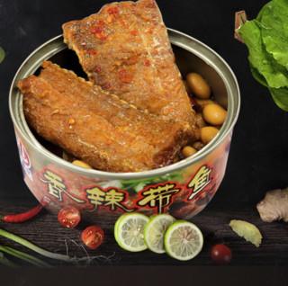 尚品绿洲 带鱼罐头 香辣味 150g*10罐