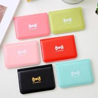 韩版蝴蝶结卡包12卡位卡套银行卡夹卡套颜色随机 颜色随机