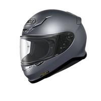 SHOEI Z7 摩托车头盔男女 马奎斯防雾全盔赛车跑盔 PEARL GREY METALLIC L