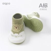 aqpa 婴儿学步防滑底软底鞋