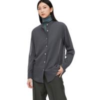 UNIQLO 优衣库 433712 薄型立领衬衫