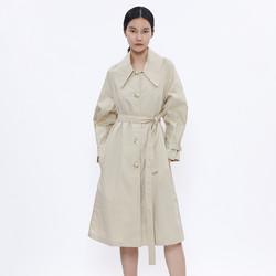 URBAN REVIVO 女士 WH06R1GN2000Z4 女士大衣外套