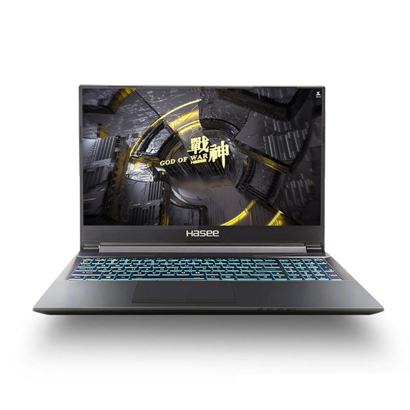 Hasee 神舟 战神 Z8-CA5NS 15.6英寸笔记本电脑(i5-10500H、4GB、128GB、RTX 3060)