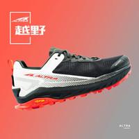 20年ALTRA新款Olympus4.0 越野跑步鞋男女缓震跑鞋专业防滑徒步鞋跑步鞋 男款-黑色/白色 40