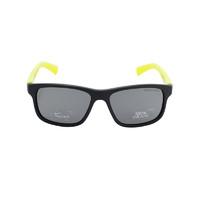 NIKE 耐克 黑黄拼色时尚全框树脂镜片女士太阳镜 EV0815-081