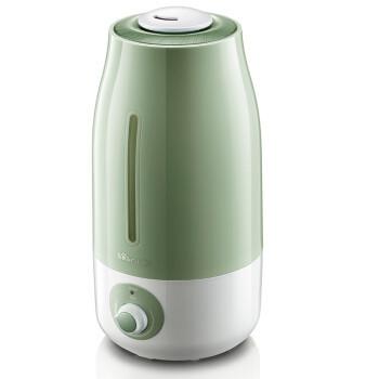 小熊(Bear) 加湿器家用迷你空调空气办公室静音香薰 3升 JSQ-A30W5 绿色