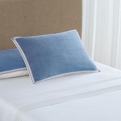 DAPU 大朴 A类精梳埃及长绒棉枕巾 一对装 52*80cm