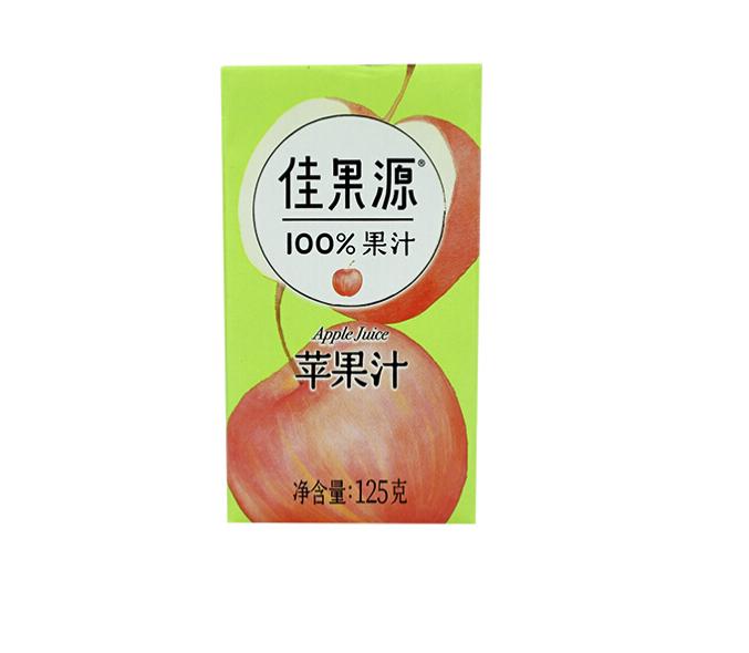 佳果源 100%苹果汁 125g*36瓶
