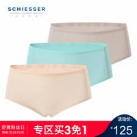 SCHIESSER 舒雅 E0/14443T 女士平角内裤 3条装 *3件