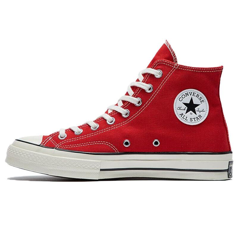 CONVERSE 匡威 1970s 中性运动帆布鞋 164944C 搪瓷红 42