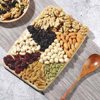 每日坚果休闲零食果仁小吃混合2斤过节送礼员工福利 500g(1斤装) *2件