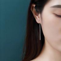 s925纯银耳线女 日韩三叶草爱心星星花朵2020爆款