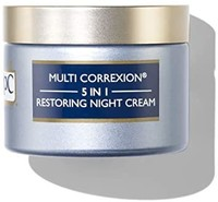 RoC Multi Correxion 5合1抵御衰老的面部晚霜,含Hexinol,1.7盎司,48克