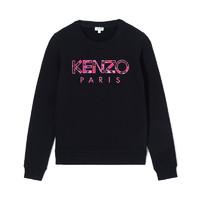 KENZO 高田贤三 Paris Peonie系列 刺绣Logo圆领卫衣