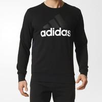 限黑卡会员:adidas 阿迪达斯 套头衫 ESS LINAOP CREW S98766 男子