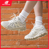 New Balance新百伦 NB Lifestyle410系列男女中性复古米灰白色透气运动跑步鞋MT410SA5 MT410SW5