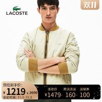 LACOSTE法国鳄鱼男装冬季保暖双面防泼水夹克棉服外套男|BH5299