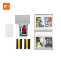 MIJIA 米家 ZPDYJ01HT 小米照片打印机 相纸+色带+相册套装版