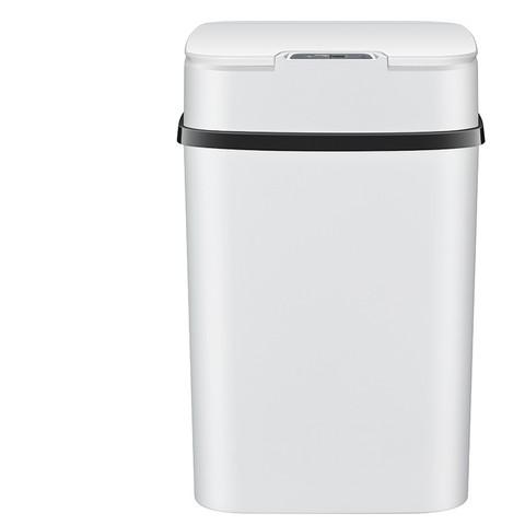 久新 智能垃圾桶 电池款 冰川白(感应)