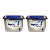 Aptamil 英国爱他美 白金版婴幼儿奶粉 1段 800g*2罐