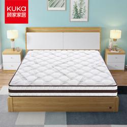 KUKa 顾家家居 DK.M1010 自然森语 椰棕弹簧床垫 180*200*20cm