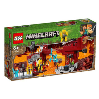 LEGO 乐高 我的世界 21154 大战火焰人