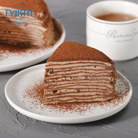 恩喜村 比利时巧克力千层蛋糕 6寸