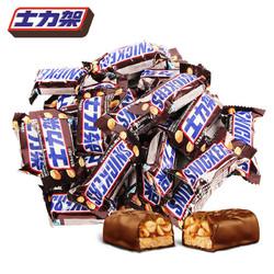 士力架 花生夹心巧克力 600g(约27条)