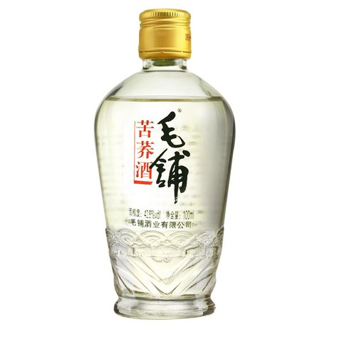 天猫U先: 毛铺苦荞酒 42.8度 黑荞100ml 品鉴酒