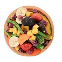 综合果蔬脆片混合装脱水水果干零食蔬菜干多规格可选 10种综合果蔬90g(试吃)