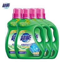 超能植翠低泡洗衣液馨香依兰 2.5千克*4桶