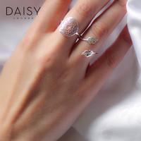 daisy london脉轮几何chic戒指 银指环女食指个性潮人朋克饰品
