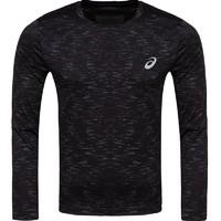 亚瑟士男士速干反光跑步训练长袖运动T恤 2011A593-001-300