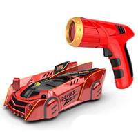 贝利雅 遥控车红外线追光爬墙车 红色