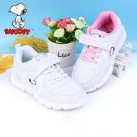 史努比童鞋女童运动鞋2020春季新款儿童运动鞋白鞋小白鞋女童鞋潮