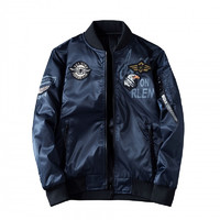 木林森(MULINSEN)大码夹克双面穿球棉  可穿到240斤外套
