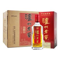 泸州老窖中华老字号特曲 浓香型白酒(第九代) 38度 500ml*6瓶 整箱